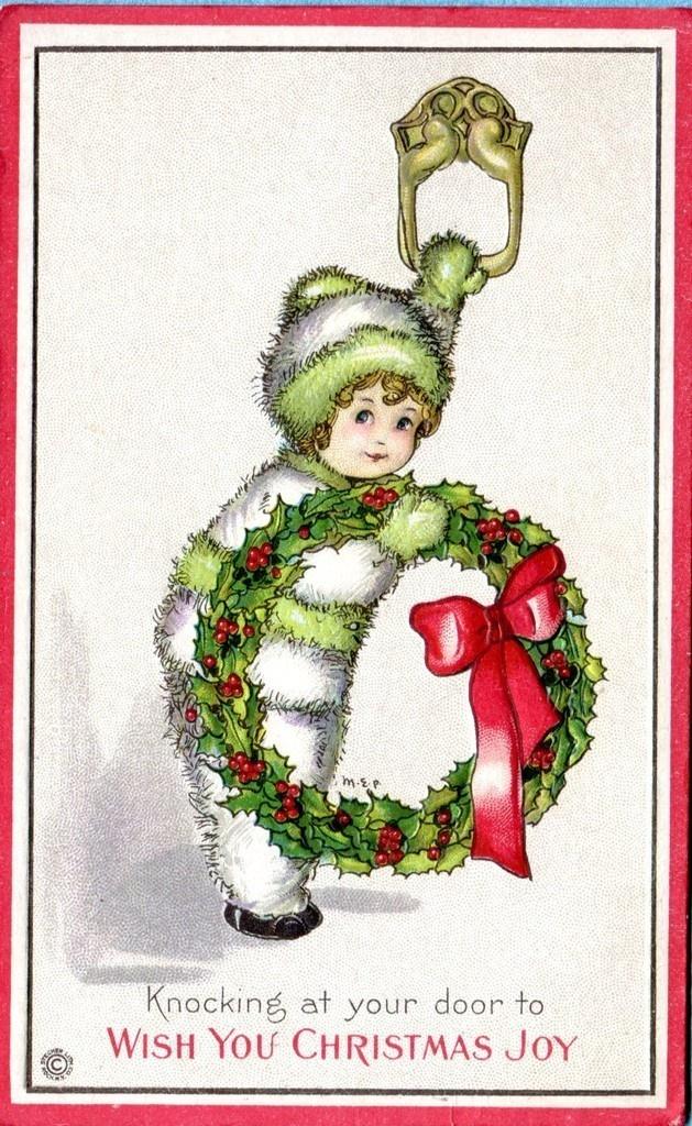 Margaret Evans Price Christmas postcard | eBay