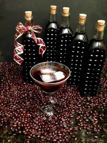 Homemade coffee liqueur recipe | •♥• DO IT | Pinterest