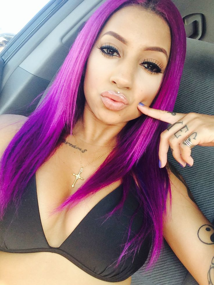 Divasnap Com Hair Diva Trend We Got The Trendy Purple