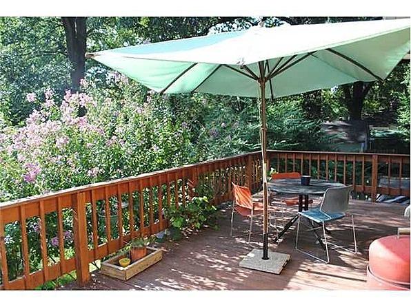 memphis bungalow backyard deck decks pinterest