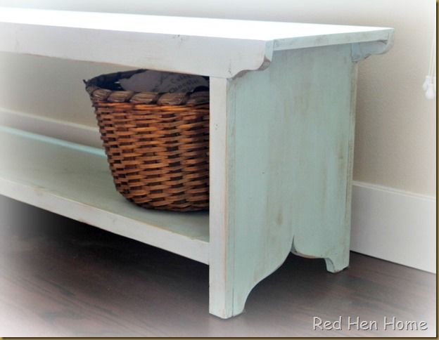 Ana White Farmhouse Bench Woodwork
