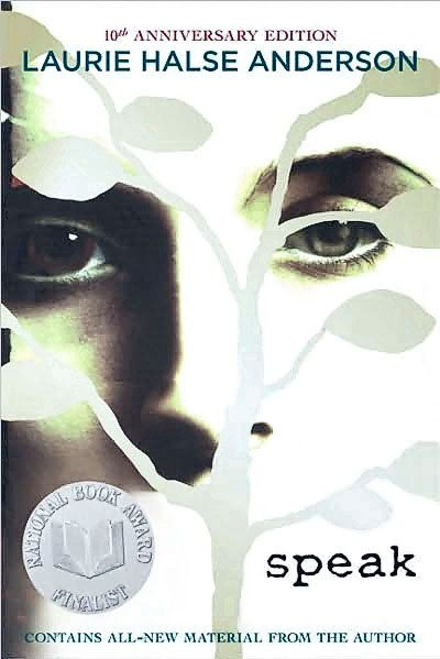 symbolization in speak by laurie halse Speak about it laurie halse anderson is no stranger to the world of censorship and book banning following the debut of her printz honor award wining book, speak.