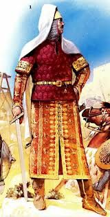 Ṣalāḥ ad-Dīn Yūsuf ibn Ayyūb - better known in the Western world as Saladin, was the first Sultan of Egypt and Syria and the founder of the Ayyubid dynasty. A Muslim of Kurdish  origin, Saladin led the Islamic opposition against the European Crusaders in the Levant. At the height of his power, his sultanate included Egypt, Syria, Mesopotamia, Hejaz, Yemen, and parts of North Africa.