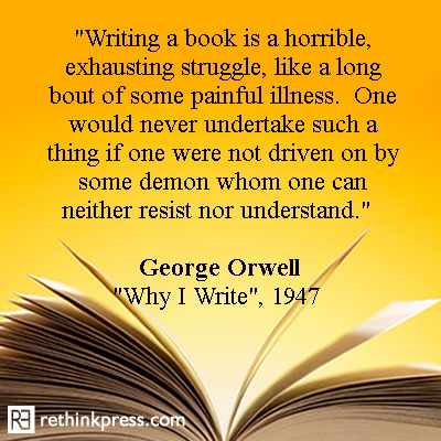 george orwell on writing The political ideas of george orwell george orwell george orwell is the pseudonym of eric blair who was born at mothari orwell was a fine, though somewhat confused, journalist who became famous for the plain style of writing evident in his essays.