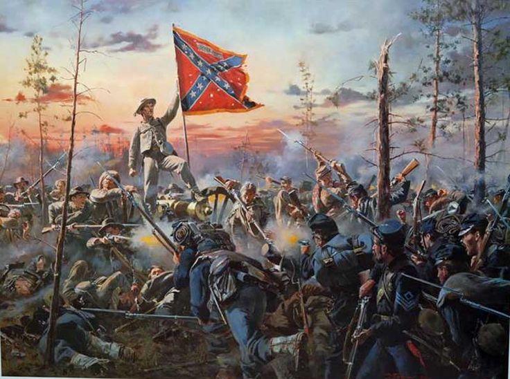 Don troiani quot the southern cross quot american cival war pinterest