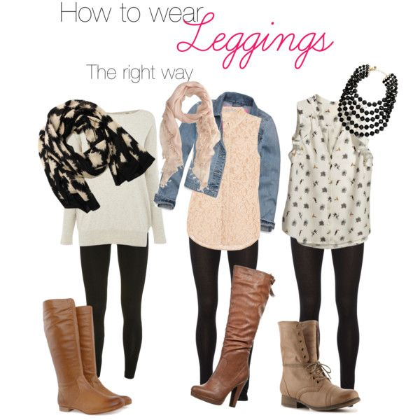 How to wear leggings the right way | My Style