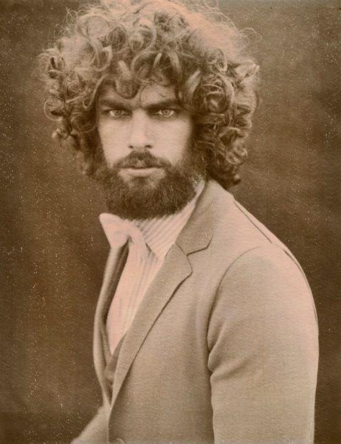 scarily intense beard
