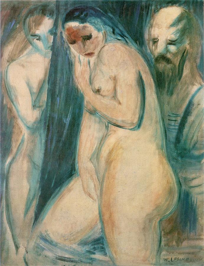 "Wilhelm Lehmbruck, ""Composition"", 1913"