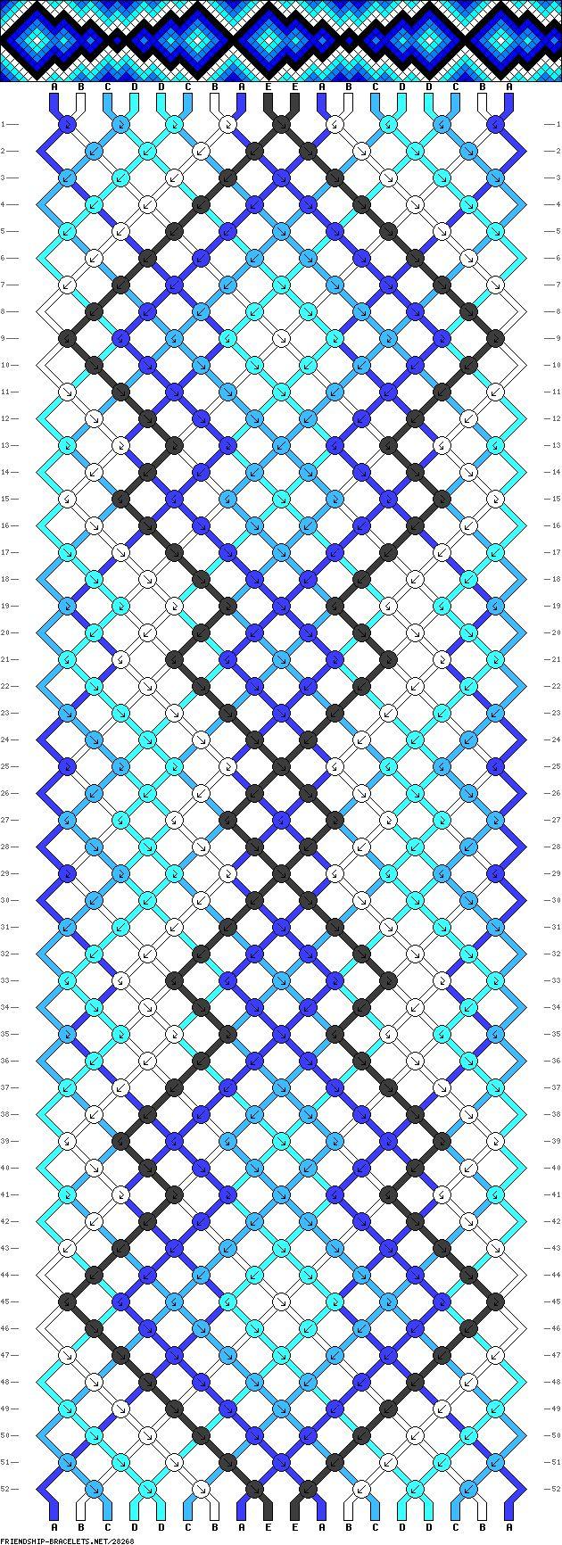 Все схемы косого плетения