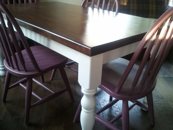 My diy kitchen table makeover furniture diy pinterest - Kitchen table redo ...