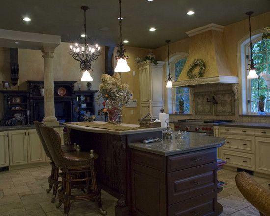 Multi level kitchen island design design pictures remodel decor and