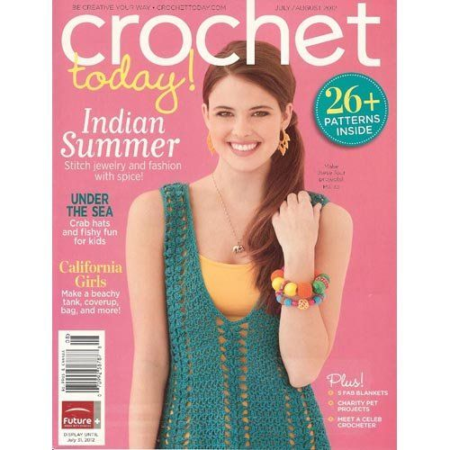 Crochet Today Magazine : Crochet Today Magazine July/August 2012. Crochet stichs Pinterest