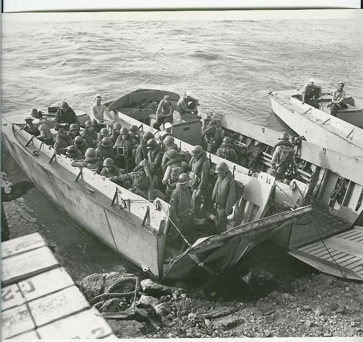 landing craft for d-day invasion
