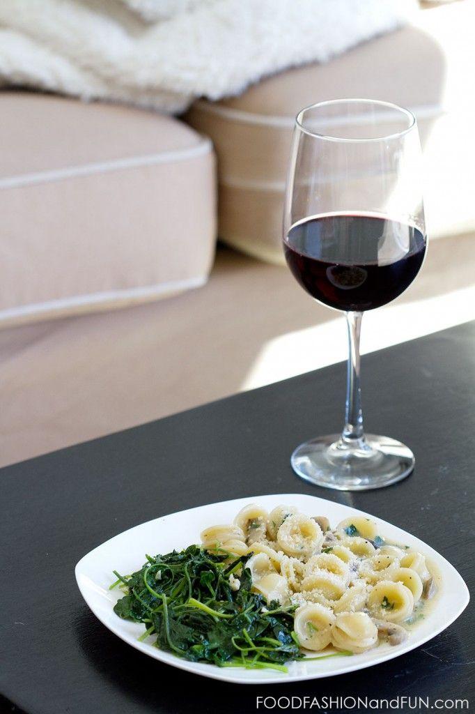 Creamy Mushroom Pasta   Food!   Pinterest