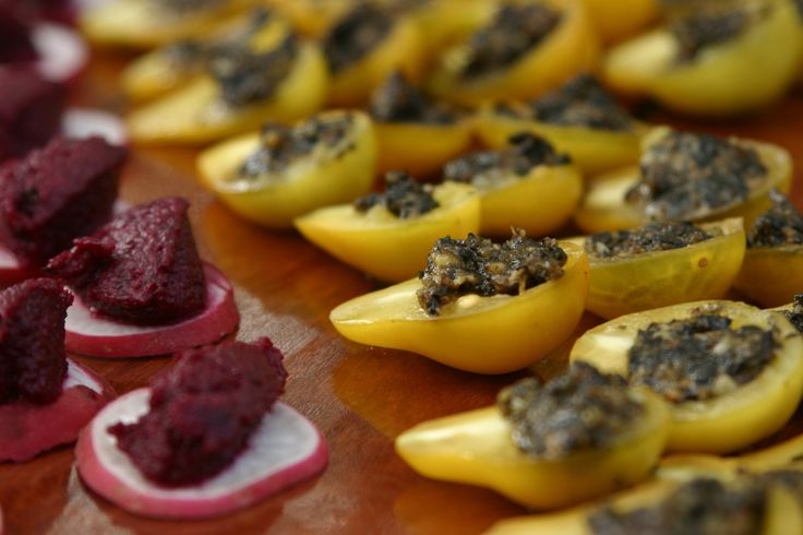 Angelica vegan and gluten free canapes christmas for Gluten free canape