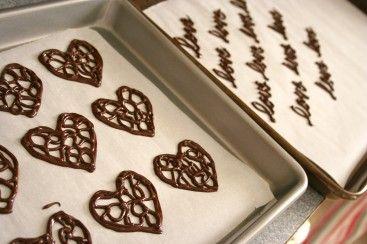Chocolate Embellishments