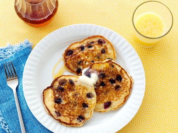 Ree's Lemon Blueberry Pancakes