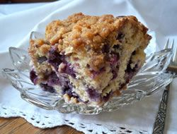 Fresh Blueberry Coffee Cake Recipe (You probably could use frozen ...