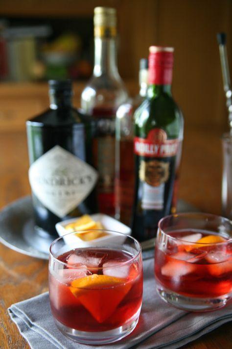 Classic Negroni Cocktail (Version 1) | Drinks | Pinterest