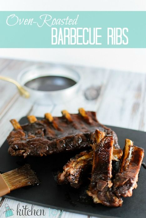 Oven-Roasted Barbecue Ribs with Coffee Dry Rub - KitchenJoy