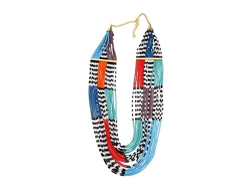 noir beaded necklaces. new OBSESSION. where have i been?