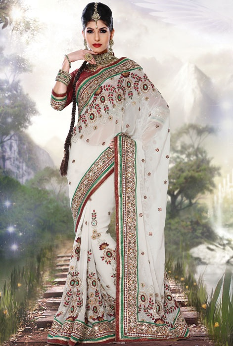 Pin by Edie H on Beautiful Sarees | Pinterest
