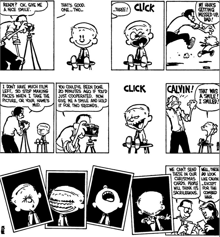 Calvin and The Picture