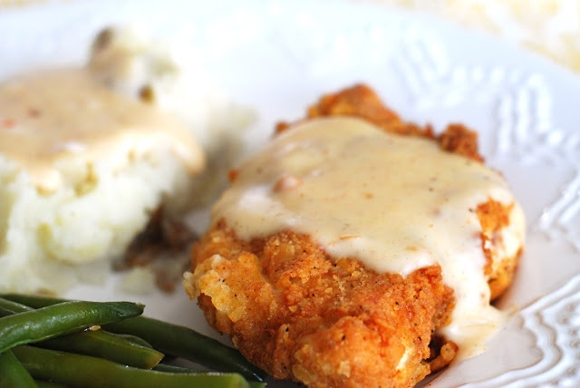 Chicken Fried Chicken with Country Gravy | Chicken | Pinterest