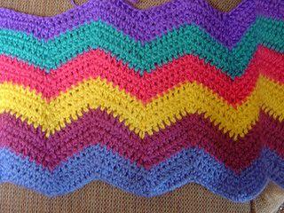 Easy Ripple Afghan pattern by SusanB