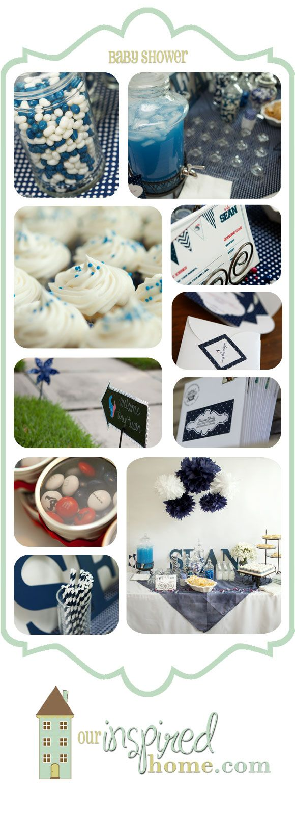 houston texans nfl football baby shower