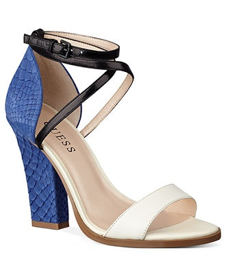 GUESS Womens Shoes, Sileno City Sandals - Sandals - Shoes - Macys