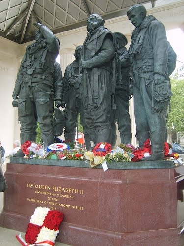 bomber command memorial remembrance day