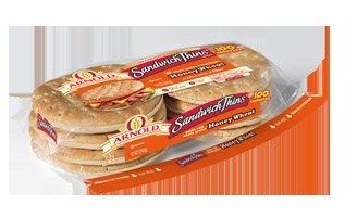 Arnold® Sandwich Thins® Rolls | Honey Wheat Sandwich Thins® Rolls