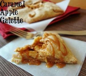 Caramel Apple Galette   sweets - pies & cobblers   Pinterest