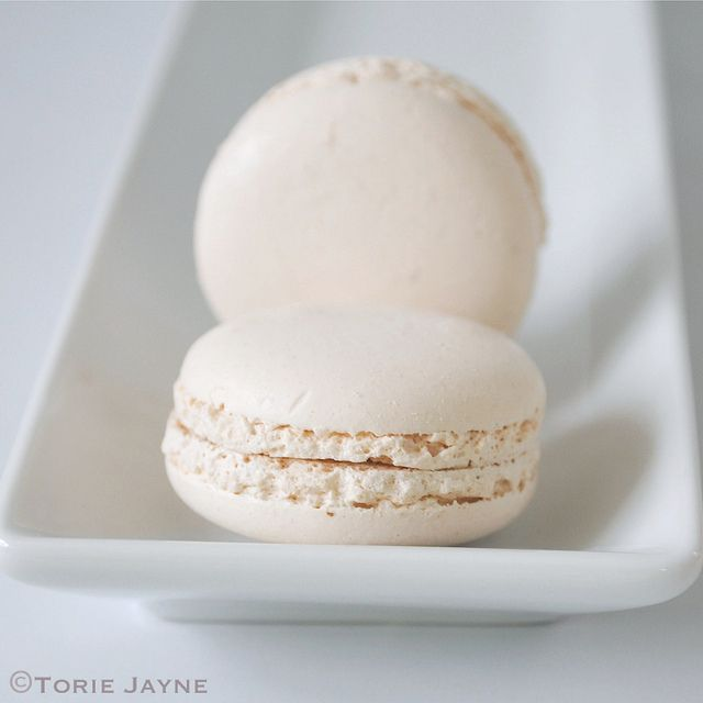 Winter white macarons by Torie Jayne   Colors: White   Pinterest