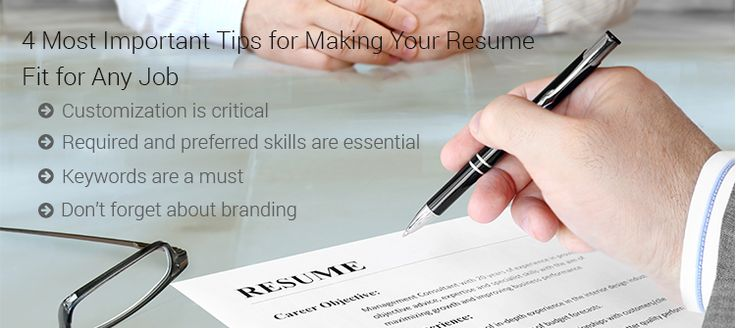 4 tips to shine resume