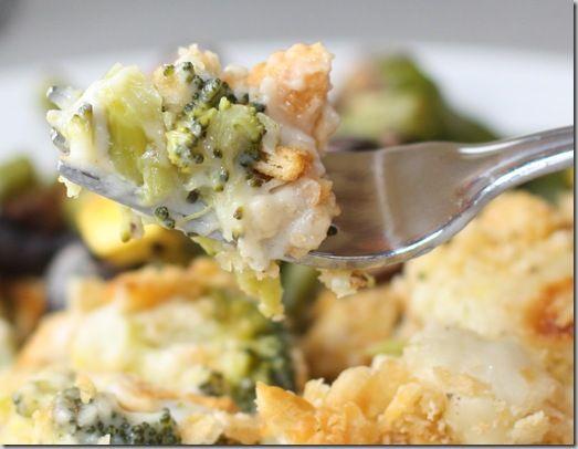 Broccoli And Cauliflower Gratin Recipe — Dishmaps