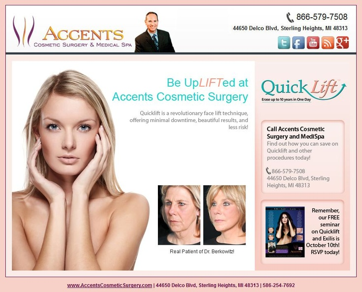 marketing for cosmetic surgery Learn more about our exclusive web marketing services we provide for all medical practices including bariatric, lasik and plastic surgeons contact us.