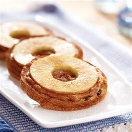 Crispy Almond Apple Rings | Recipe