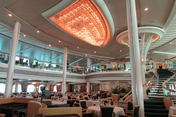 vision of the seas main dining north to alaska cruise