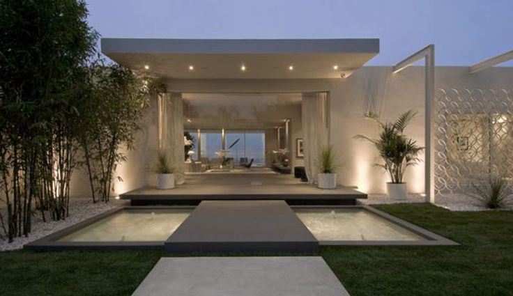 Maison de luxe moderne plan for Maison luxueuse moderne