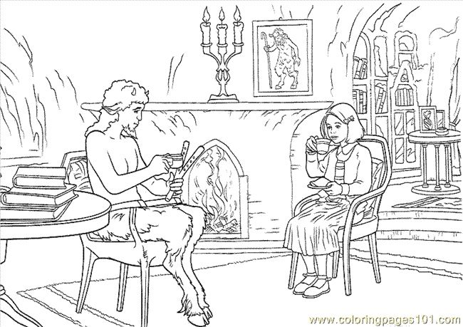 narnia coloring pages free - photo#15