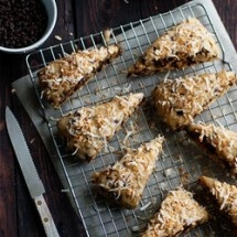 Chocolate Coconut Scones (Chocolate) | Recipes for Chocolate Lovers ...