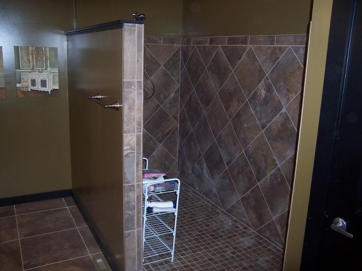 Tiled Walk In Shower Designs For The Home Pinterest