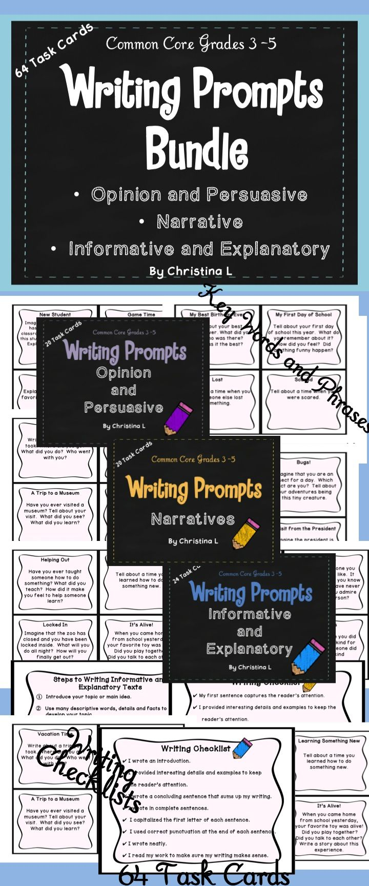 Explanatory Writing Prompts NJ