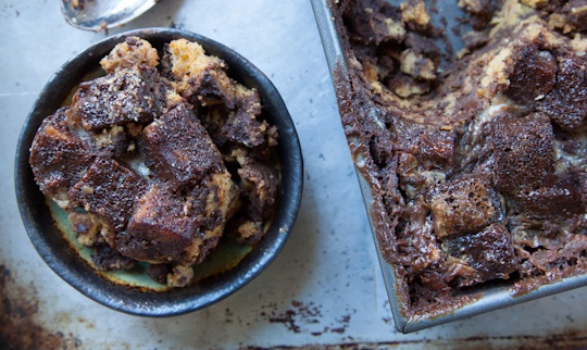 Dark Chocolate Sweet Potato Bread Pudding by Irvin Lin of Eat the Love ...