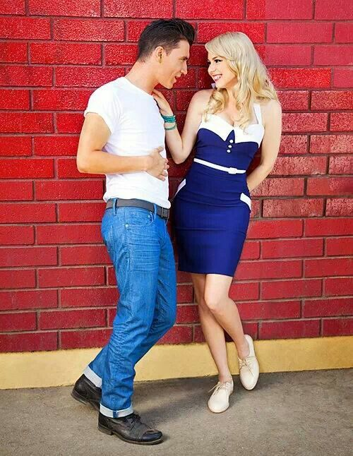 Rockabilly couple | Style is as Style Does | Pinterest