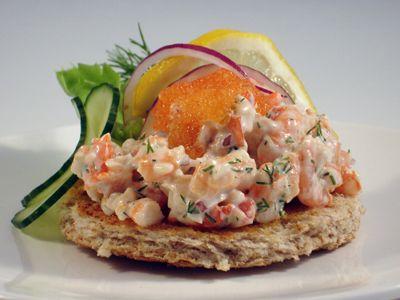 Toast skagen food pinterest for Swedish fish recipe