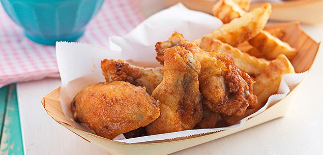 Finger lickin' chicken and chips recipe   Food and Drink   Pinterest