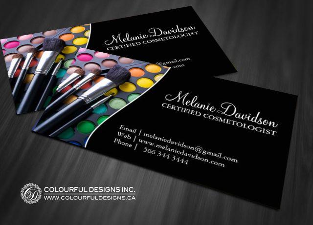 Дизайн визиток для визажистов